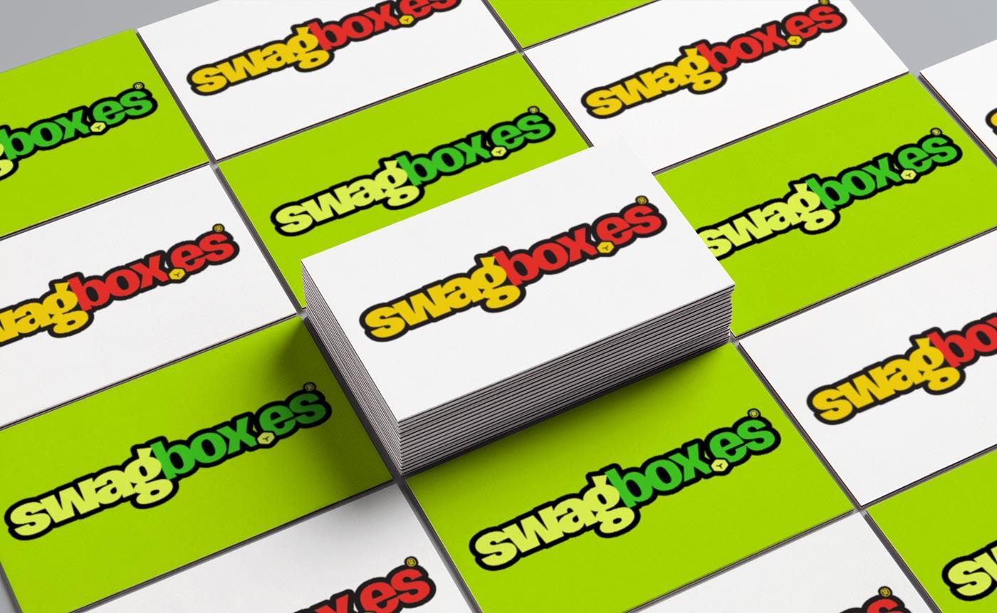 Swagbox.es logo design by 77 Rockets Leicester