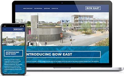 Bow East Website