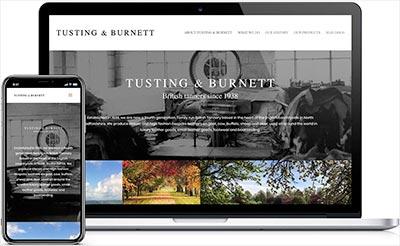 Tusting & Burnett Website