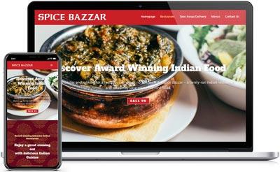 Spice Bazzar Website